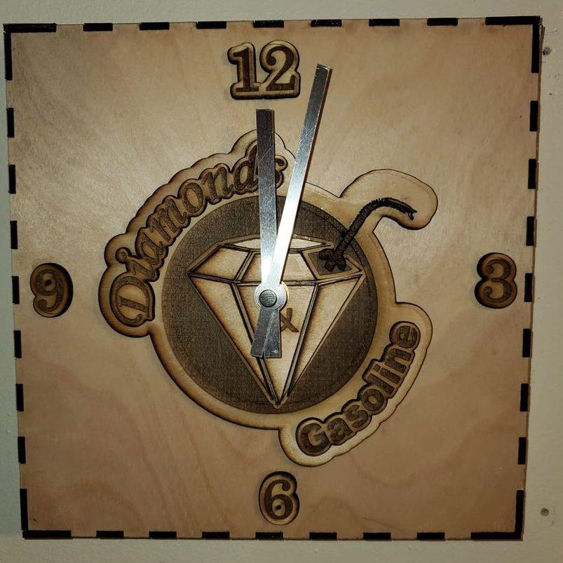 Song Art Wall Clock